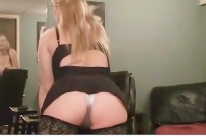 sex crazy mature blonde slut with large boobs