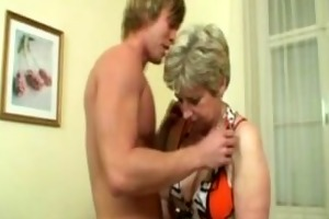 blonde older fucked hard by youthful lad