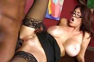 charlee follow copulates a younger black stud
