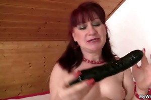 mother-in-law rides his meat and receives busted