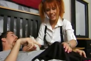 babysitter unfathomable throats everybody cums