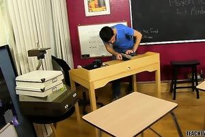 mike manchester teaches juvenile studen aiden