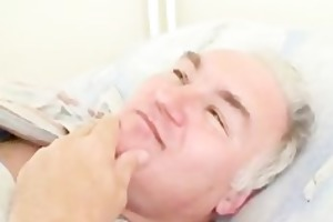 grandpapa bonks hawt lewd nurse