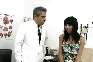 dirty old doctor bonks hot young girl