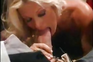 hot blond mature fucks old man