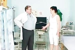 mature helena amoral hairy pussy examination