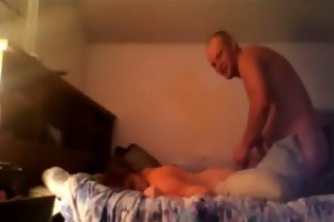 parents have a morning fuck with room door open