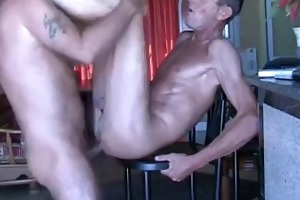 younger lad copulates daddy!!!