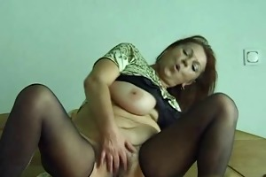 granny mathilda receives youthful pole in her