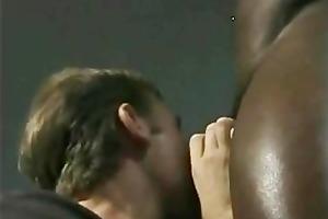 interracial homo sex on the bench cram