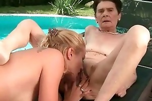 old moms vs youthful cuties compilation