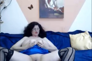 web camera - 46 year old mature with huge pointer