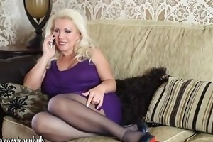 horny blond d like to fuck has phone sex