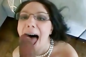 chic d like to fuck fills face hole with cock and