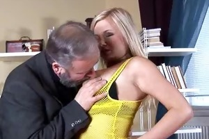 busty mom plays with her massive tits then gets