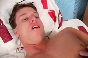 sexual young gay dennis getting anally rammed by