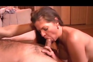neighbors breasty wife gets cum in her love tunnel