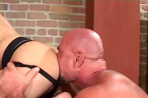trio - muscles dad fuck a chap