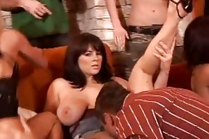 young sex party scene will drive you eager