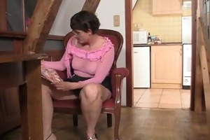 lewd mother-in-law needs fresh cock