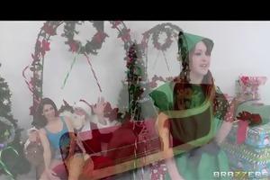 youthful slutty teen schoolgirl just wants santas