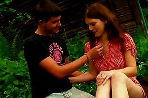smoking hot outdoor sex