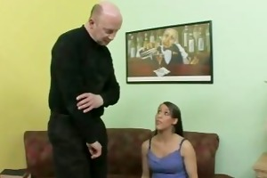 mature tutor acquires a oral sex from slutty