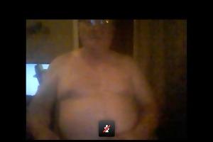 concupiscent older man cum livecam