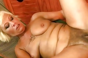 hawt curly granny fucking with her youthful