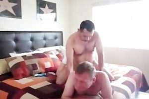 bearded daddy copulates his paramour in the ass 3
