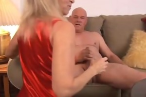 charming aged pornstar annabelle brady screwed