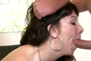 daughter catches mama getting booty screwed