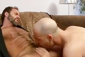 two sexy studs engulfing & fucking