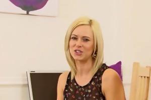 anna joy receives lustful and masturbates after