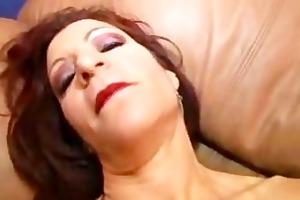 violet jones receives her sausage garage stuffed