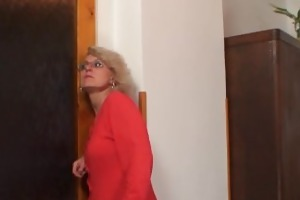 wife finds him fucking mom in law and receives