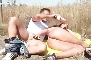 horny milf acquires drilled hard outdoor part6