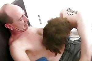 aged gay dad slamms young constricted ass