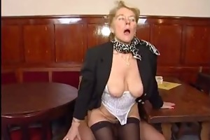 granny have a fun young cock