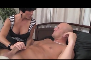 large tits milf shay fox and daughter blowjob