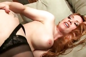 busty blonde milf shags with horny young stud
