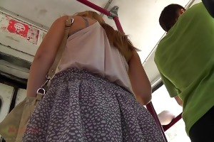 the youthful upskirt with funny panty