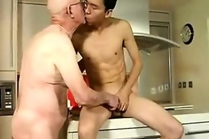 oriental boy fucking grandpa