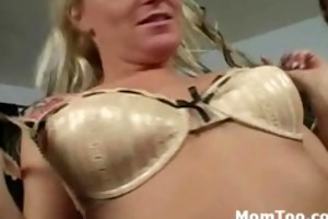 horny blonde mother i and sluty daughter