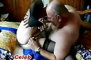 dilettante granddad and granny pose fuck amateur
