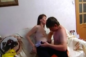 teen son return home and fuck his step-mother