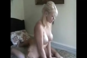 gorgeous blond d like to fuck enjoying anal with
