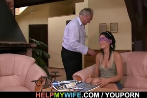 hubby calls boy to fuck his wife