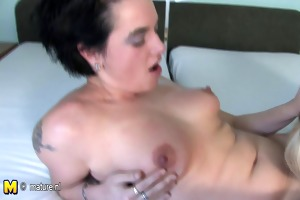 blonde mature lesbo needs a younger pussy