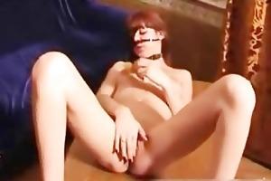 asty mama plugs on her kinky dildo part3